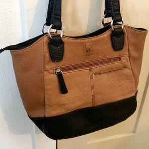 Stone & Co. Bags - Stone & Co. Leather Colorblock Purse